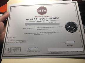 highschool diploma 2